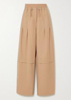 3.1 Phillip Lim Serge Wool-blend Twill Straight-leg Pants