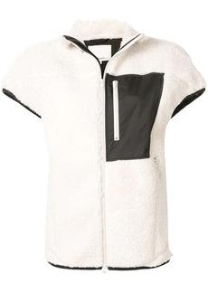 3.1 Phillip Lim shearling zipped waistcoat