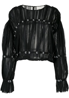 3.1 Phillip Lim sheer panel top
