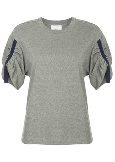 3.1 Phillip Lim short gathered sleeve T-Shirt