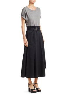 3.1 Phillip Lim Short Sleeve Jersey Tee Dress