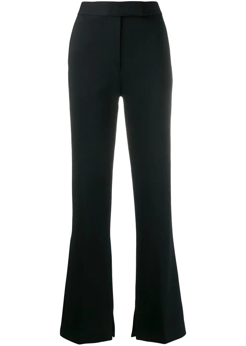 3.1 Phillip Lim side slit tailored flared trousers