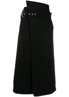 3.1 Phillip Lim Side Wrap Midi Skirt