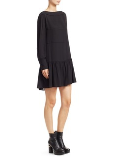 3.1 Phillip Lim Silk Drop-Waist Dress