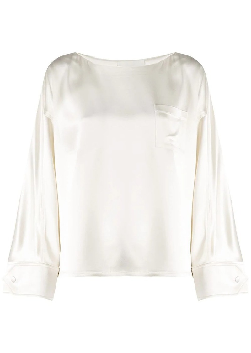 3.1 Phillip Lim slash neck blouse