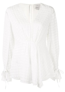 3.1 Phillip Lim Sleeve Tie Blouse