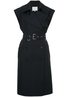 3.1 Phillip Lim sleeveless belted trench coat