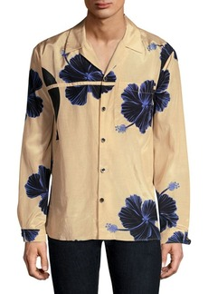 3.1 Phillip Lim Souvenir Floral-Print Button-Down Shirt
