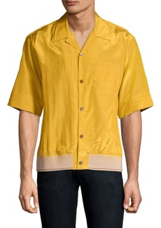 3.1 Phillip Lim Souvenir Pajama Button-Down Shirt