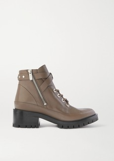 3.1 Phillip Lim Space For Giants Hayett Lace-up Leather Ankle Boots