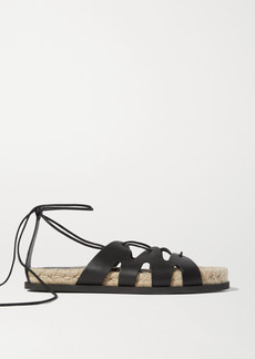 3.1 Phillip Lim Space For Giants Yasmine Leather Espadrille Sandals