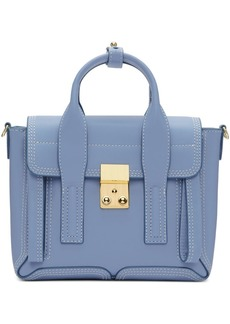 3.1 Phillip Lim SSENSE Exclusive Blue Mini Pashli Satchel