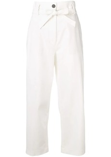 3.1 Phillip Lim straight leg cropped trousers