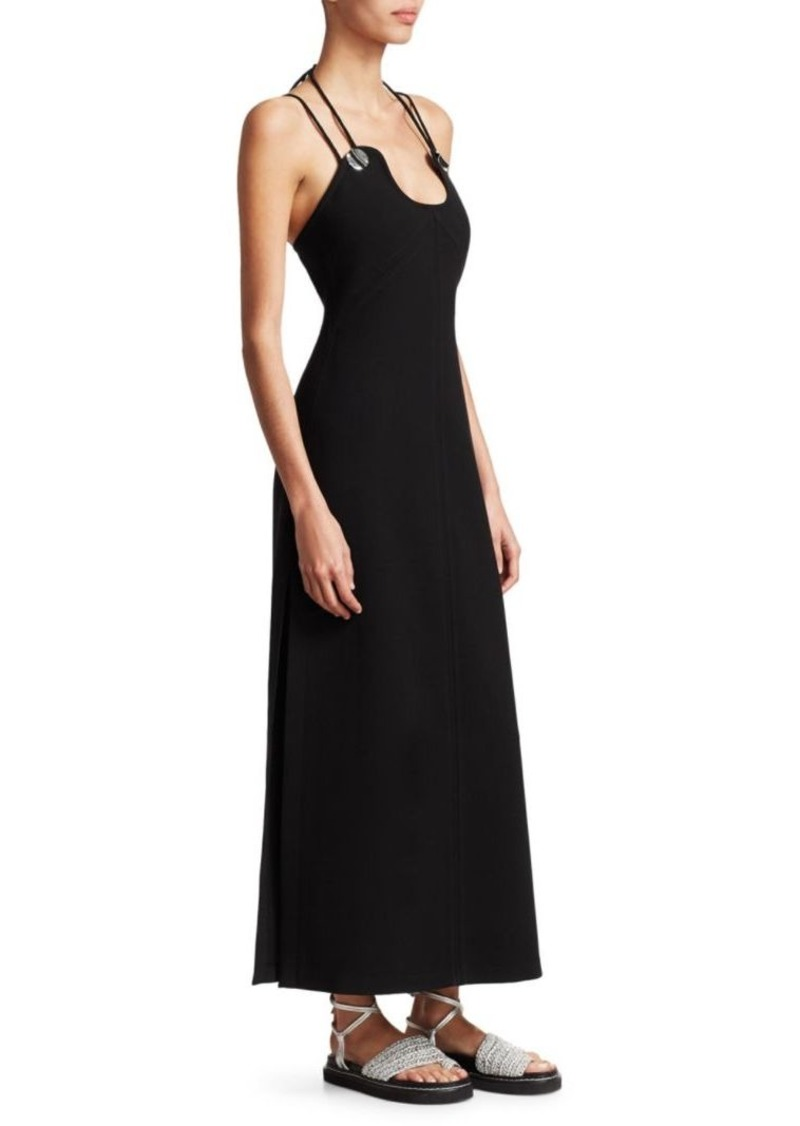 3.1 Phillip Lim Strappy Crepe Midi Dress