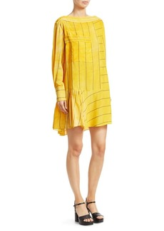 3.1 Phillip Lim Stripe Boatneck Dress