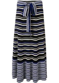 3.1 Phillip Lim stripe rib-knit skirt