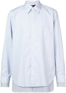 3.1 Phillip Lim Striped double-layered button-down shirt
