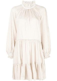 3.1 Phillip Lim striped frill trim dress