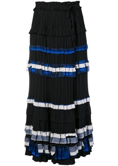 3.1 Phillip Lim striped full skirt