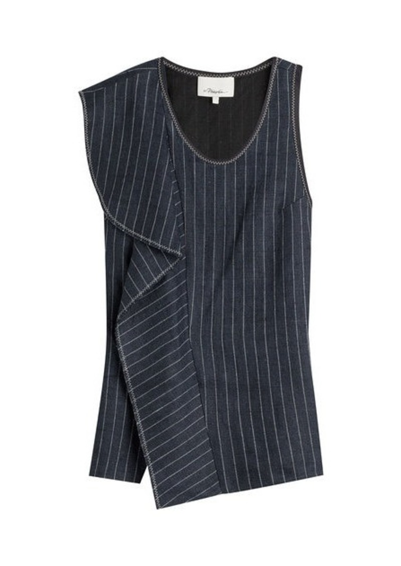 3.1 Phillip Lim Striped Linen Shell