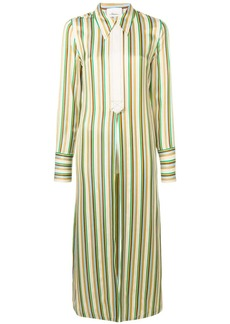 3.1 Phillip Lim striped long shirt-jacket