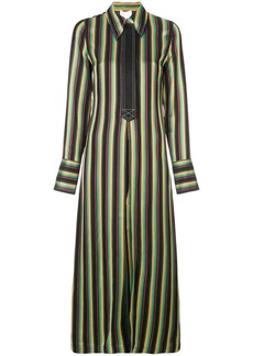 3.1 Phillip Lim striped long shirt jacket
