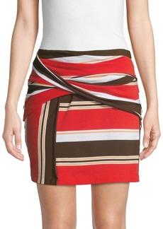 3.1 Phillip Lim Striped Mini Skirt