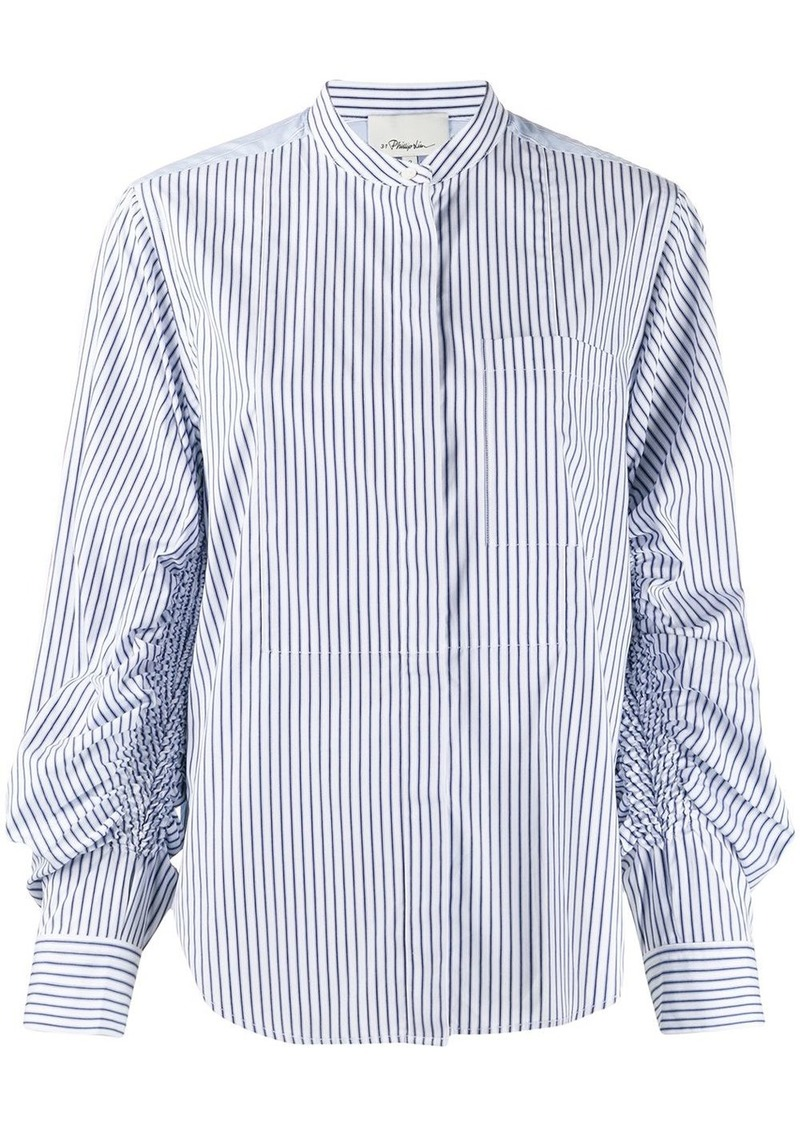 3.1 Phillip Lim striped pattern shirt