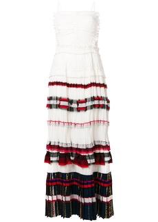 3.1 Phillip Lim striped pleated maxi dress
