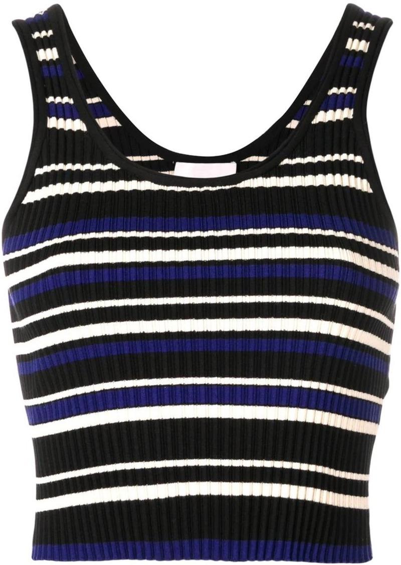 3.1 Phillip Lim striped rib-knit top