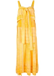 3.1 Phillip Lim striped tie-front dress