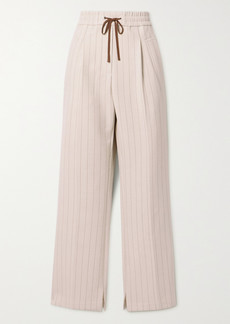 3.1 Phillip Lim Striped Woven Track Pants