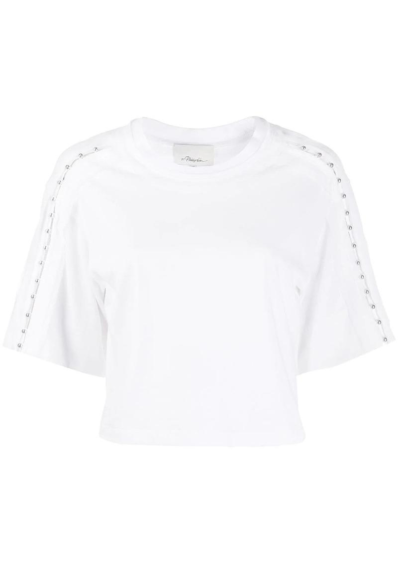 3.1 Phillip Lim studded shoulder T-shirt