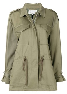 3.1 Phillip Lim Sweater-back utility parka