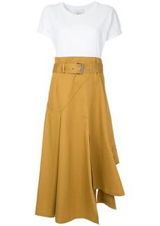 3.1 Phillip Lim T-shirt panelled dress