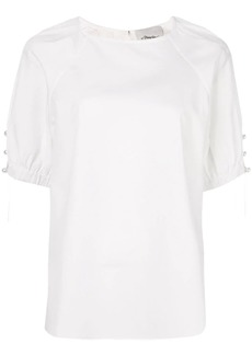 3.1 Phillip Lim T-shirt with pearl chains
