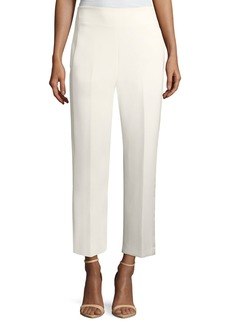 3.1 Phillip Lim Tailored Straight-Leg Crepe Pants