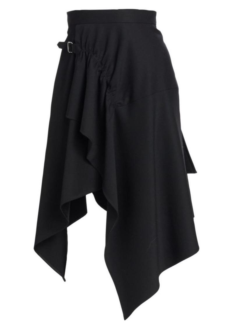 3.1 Phillip Lim Tailored Wool Handkerchief Skirt