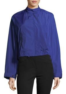 3.1 Phillip Lim Technical Zip-Front Crop Anorak Jacket