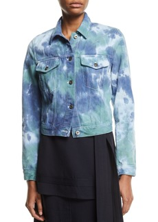 3.1 Phillip Lim Tie-Dye Denim Jacket