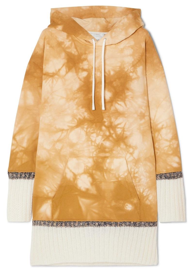 3.1 Phillip Lim Tie-dyed Cotton-jersey Hoodie