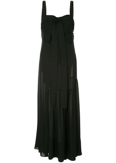 3.1 Phillip Lim tie front flared dress