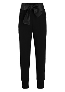 3.1 Phillip Lim Tie-Waist French Terry Joggers