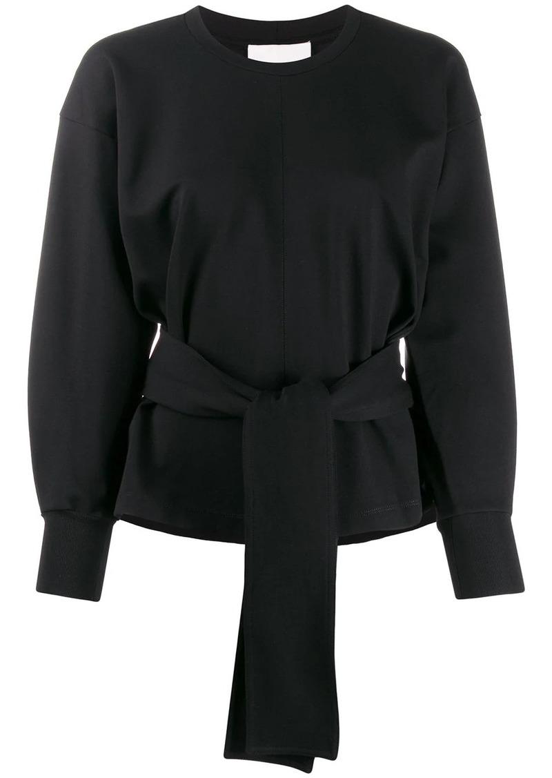 3.1 Phillip Lim tie waist knitted top