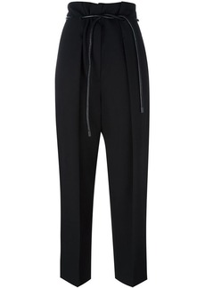 3.1 Phillip Lim tied high-waist trousers