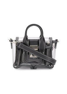 3.1 Phillip Lim transparent Pashli nano satchel