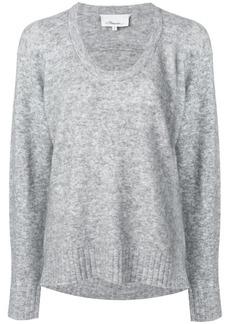 3.1 Phillip Lim U-neck knit jumper