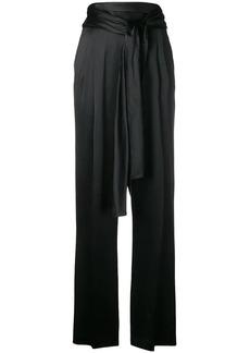 3.1 Phillip Lim Waist-tie crepe trousers