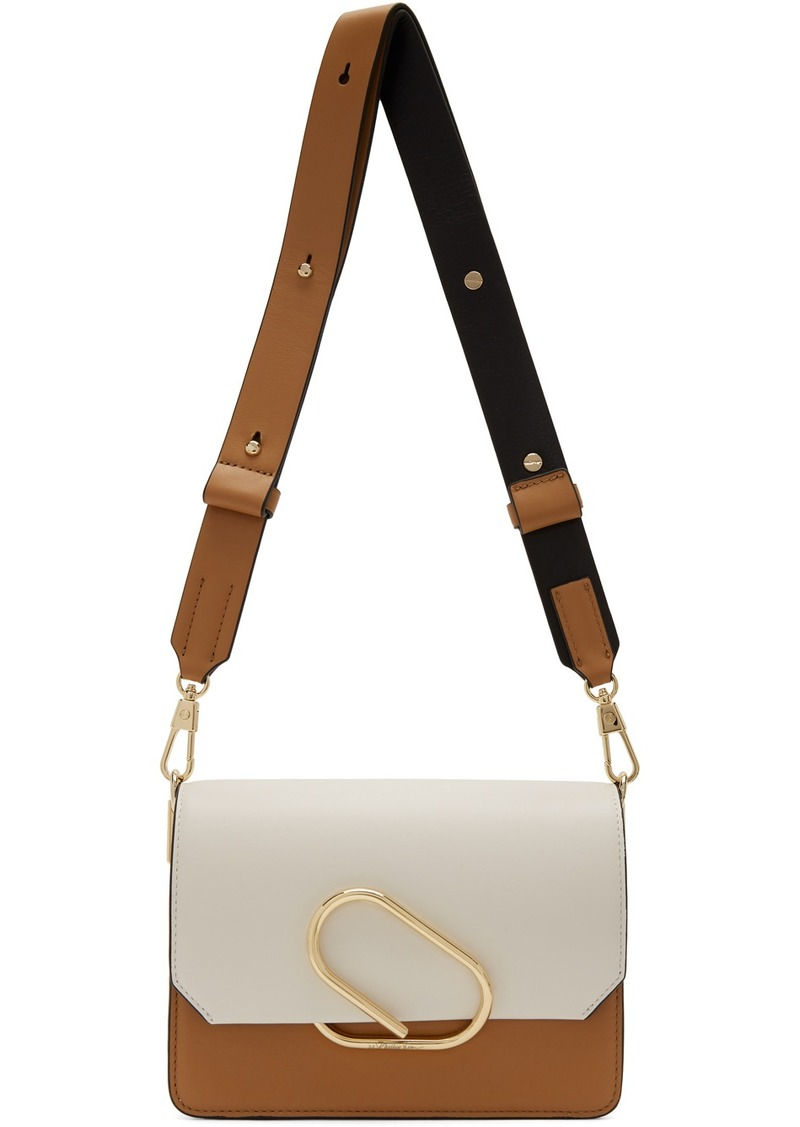 3.1 Phillip Lim White & Black Mini Alix Shoulder Bag