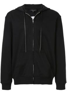 3.1 Phillip Lim wolf print zipped hoodie